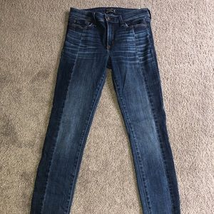 Abercrombie & Fitch Harper LOW RISE  SKINNY JEANS